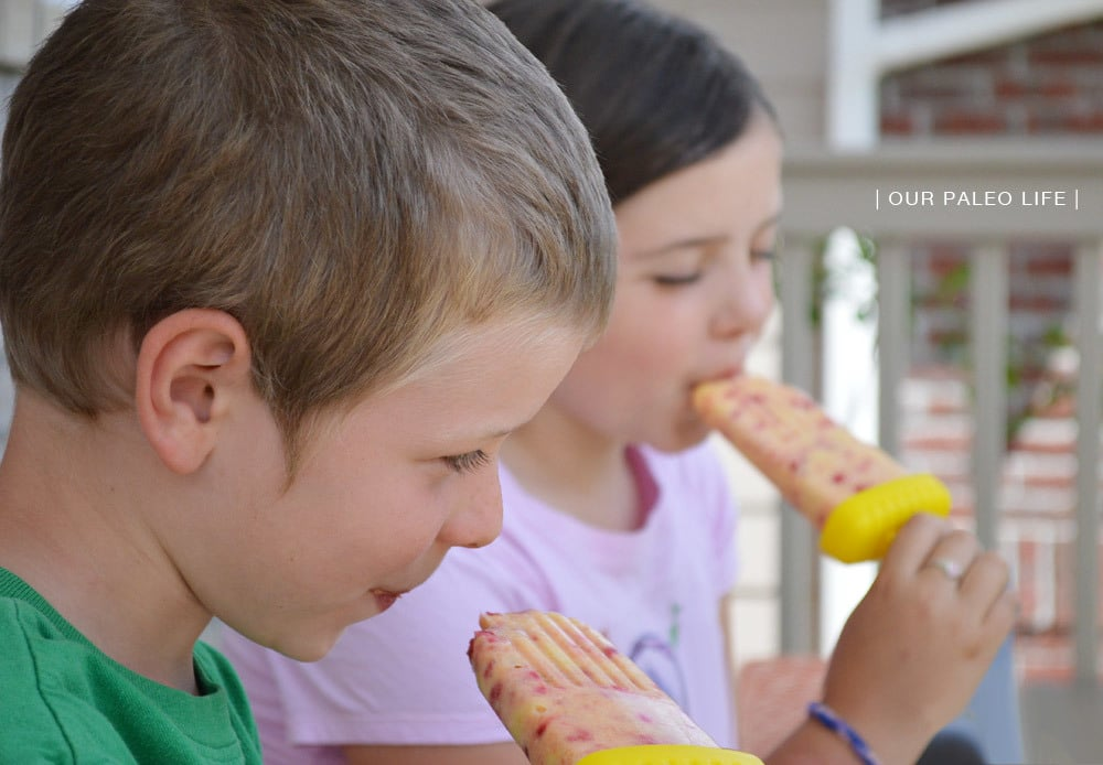 MangoBerry Popsicle | Our Paleo Life