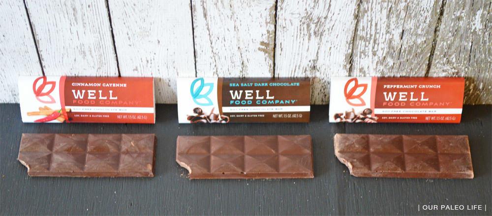 Well Food Co - Chocolate Bars