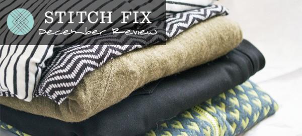 StitchFix December Review