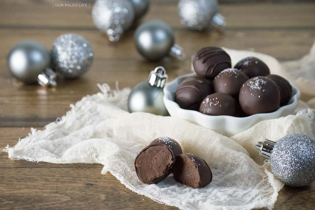 Paleo Peppermint Chocolate Truffles {dairy-free, nut-free} by Our Paleo Life