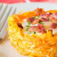 Eggs in a Nest {by Our Paleo Life}