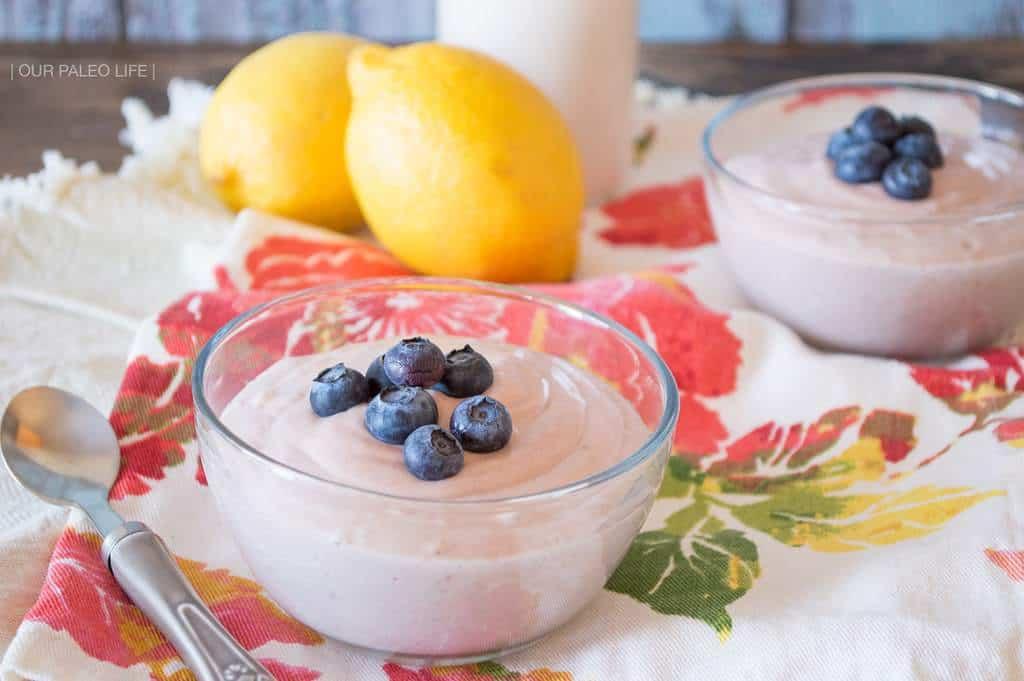 Instant Strawberry Yogurt {dairy-free, paleo}