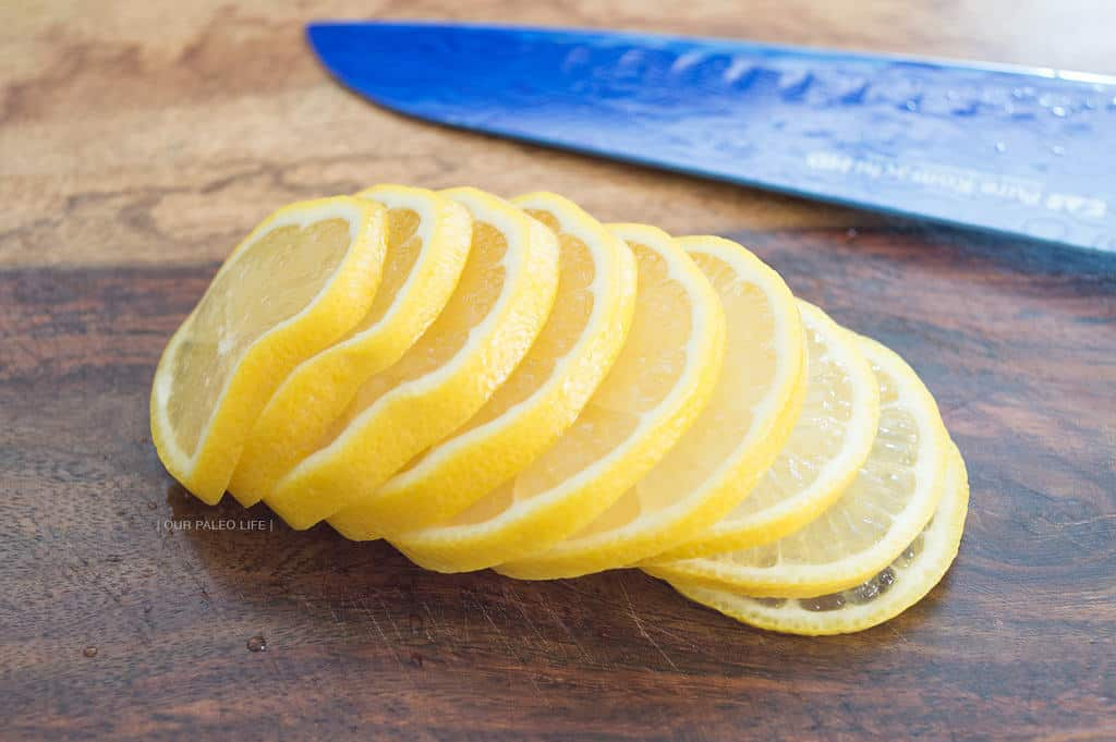 Creamy Lemon Artichoke Chicken {by Our Paleo Life}