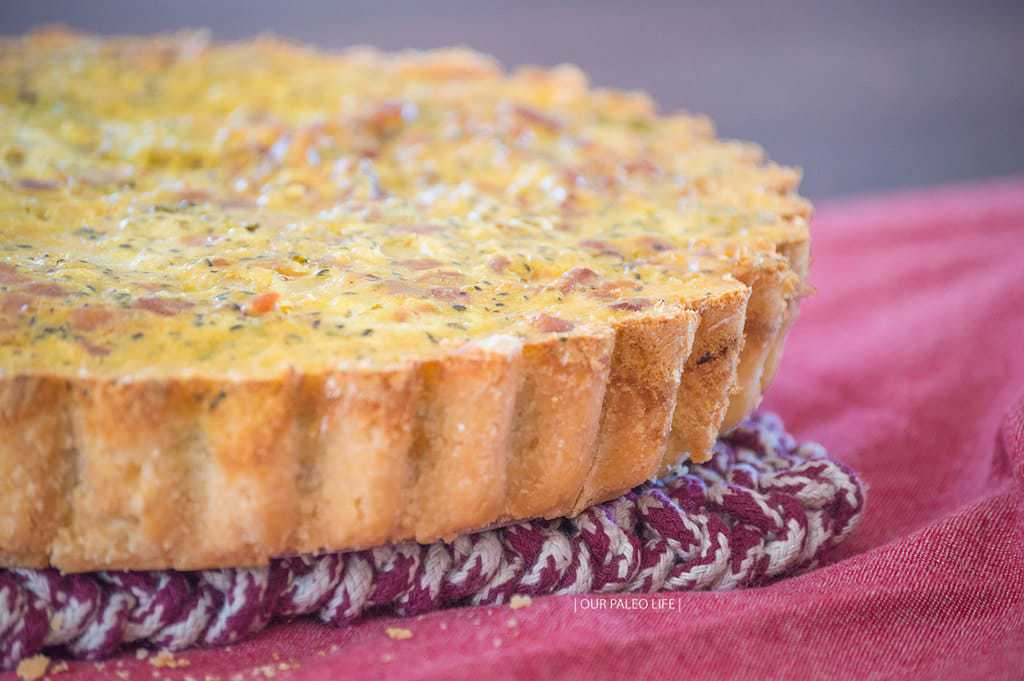 Bacon Broccoli Quiche | Our Paleo Life