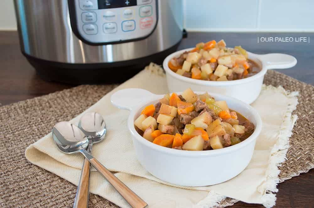 Instant Pot Beef Stew by Our Paleo Life