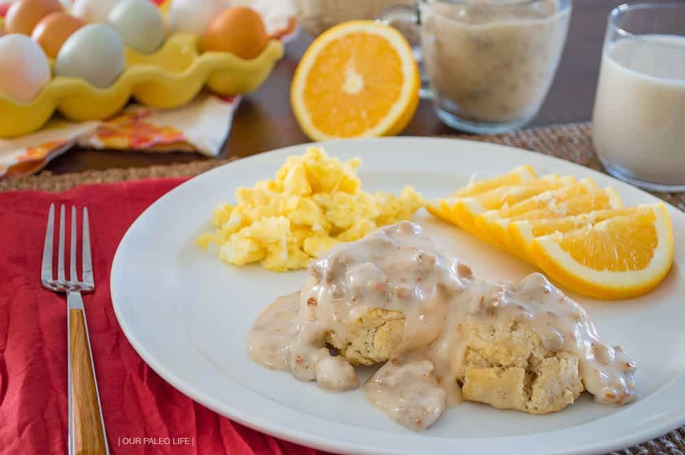 Sausage Gravy {dairy-free, grain-free} by Our Paleo Life