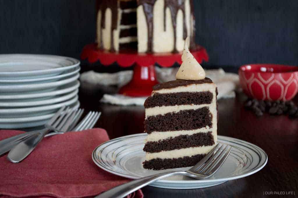 Grain-Free Chocolate Mud Cake by Our Paleo Life