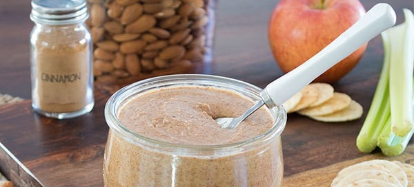 Maple Cinnamon Almond Butter by Our Paleo Life