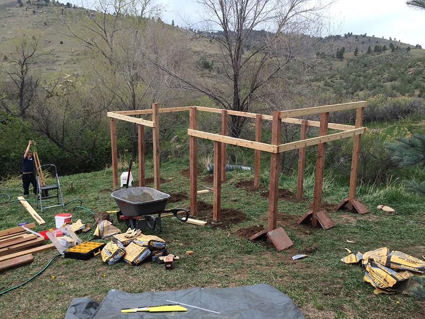 Garden Fence Layout