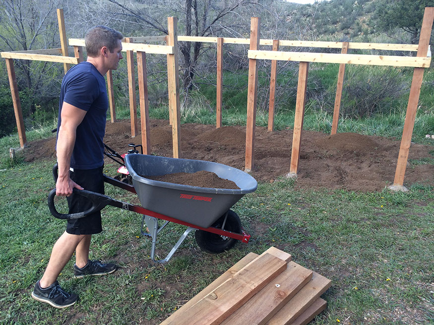 Hauling Compost