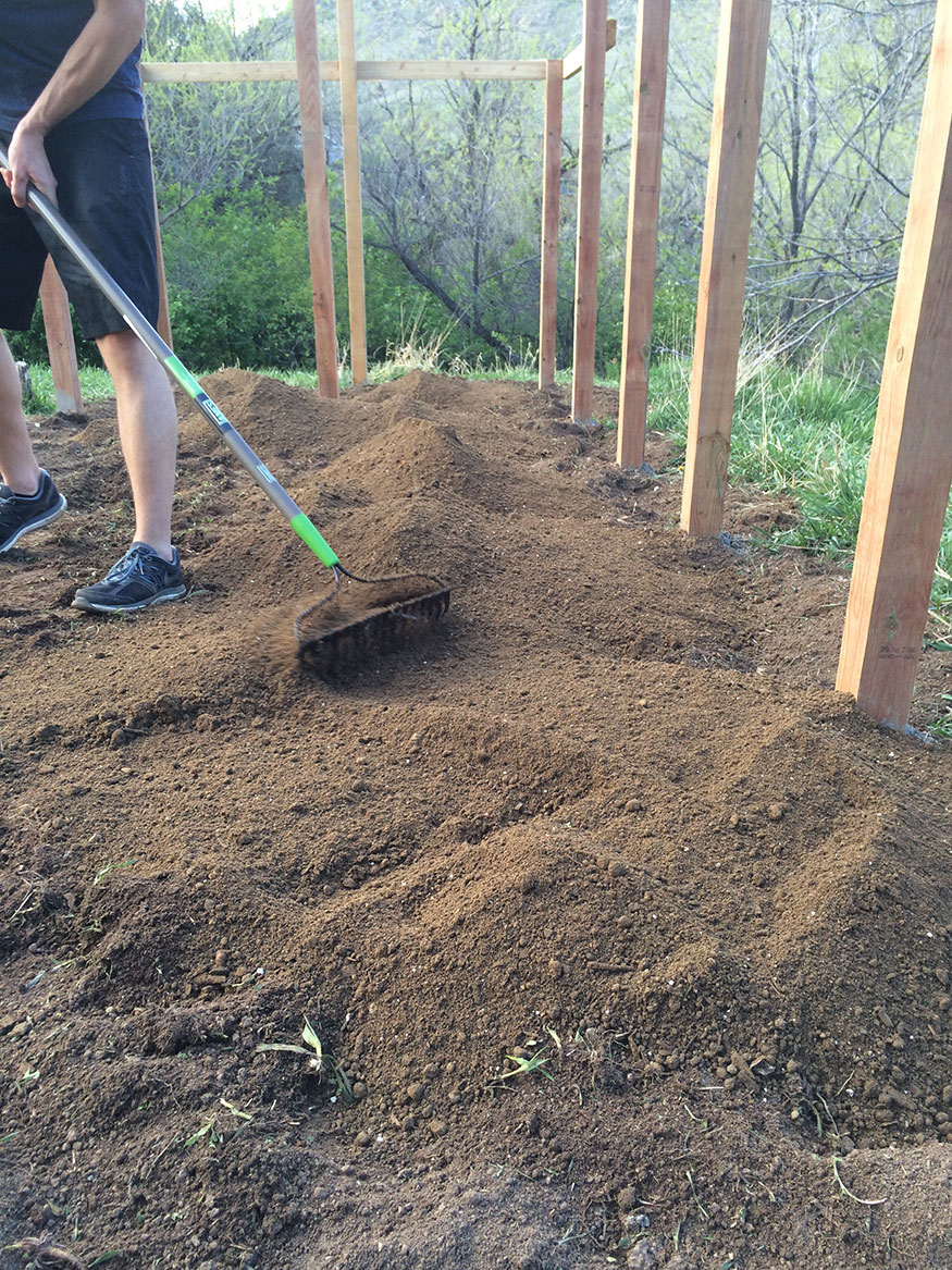 Preparing the Earth with Compost