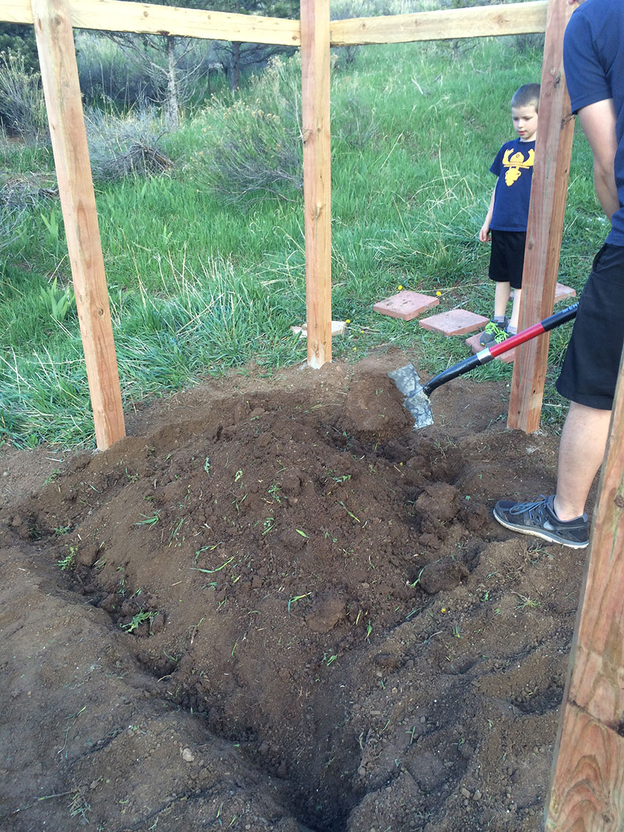 Preparing the Earth for Garden Layout