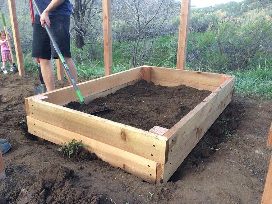 Gardening Box for Square Foot Gardening