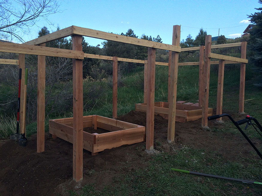 Garden Fence Project