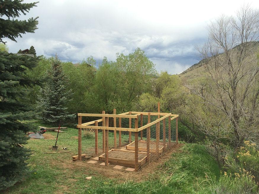 Garden Fence for Deer Prevention