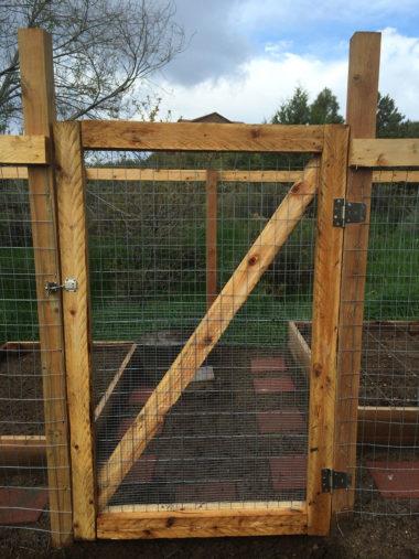 Garden Gate Installed