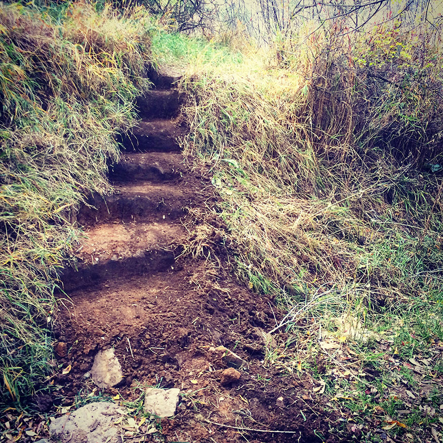 Creating Trail Steps