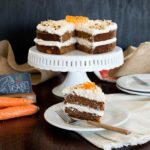 Carrot Cake w/ Maple Meringue Frosting