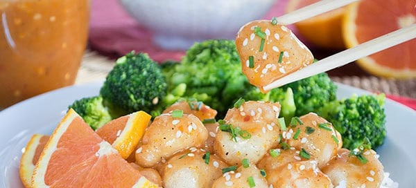 Takeout Orange Chicken {grain-free} by Our Paleo Life