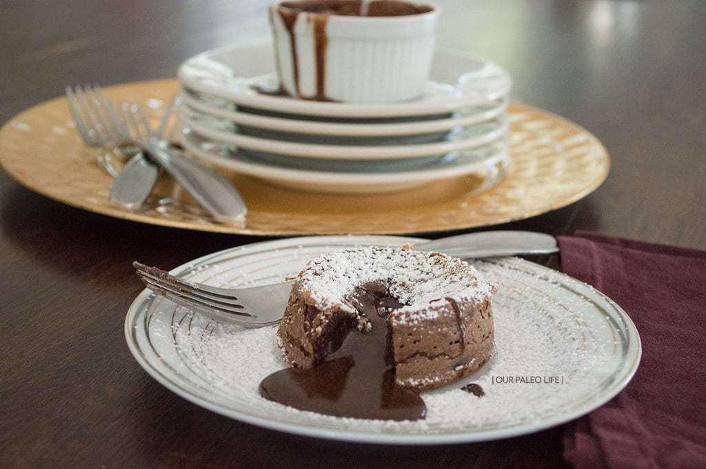 Mini Molten Lava Cakes {primal, grain-free} | Our Paleo Life