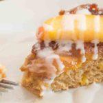 Upside Down Peach Cake {grain-free; dairy-free option}