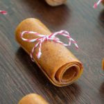 Peach Fruit Leather {honey-sweetened; real fruit}