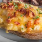 Twice Baked Potato {primal; dairy}