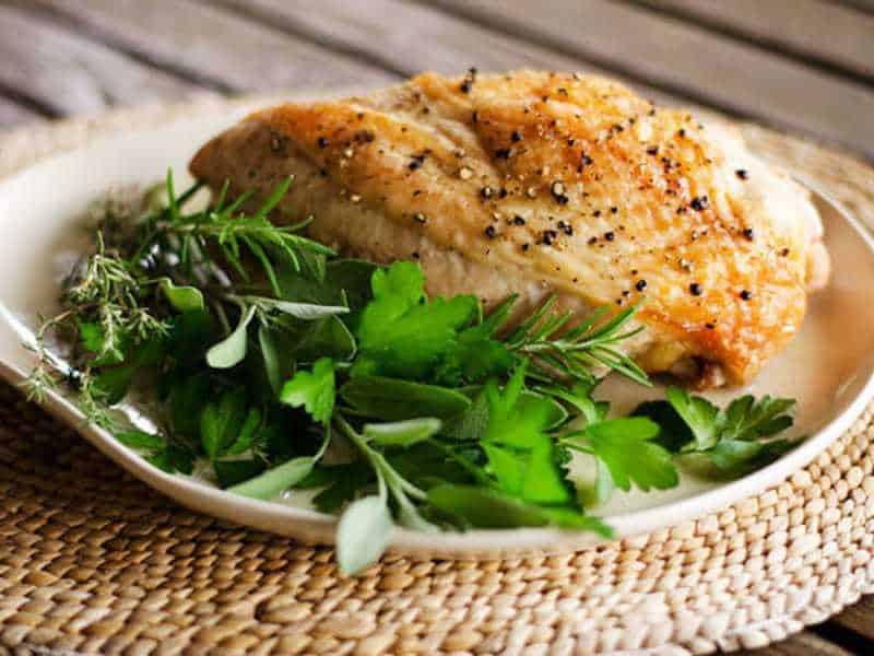 Simple Roast Turkey Breast | Cook Eat Paleo
