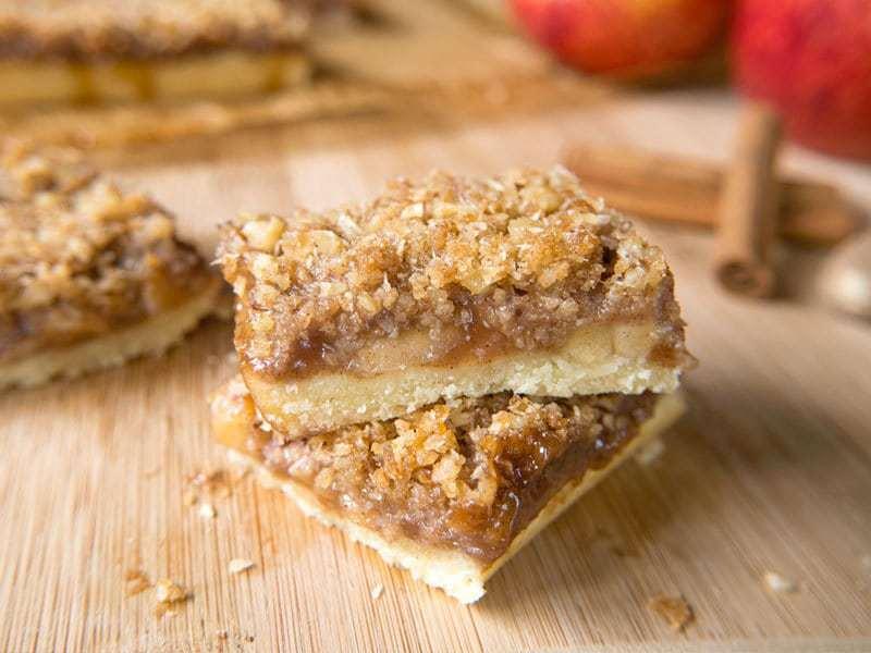 Paleo Apple Pie Bars | Merit + Fork