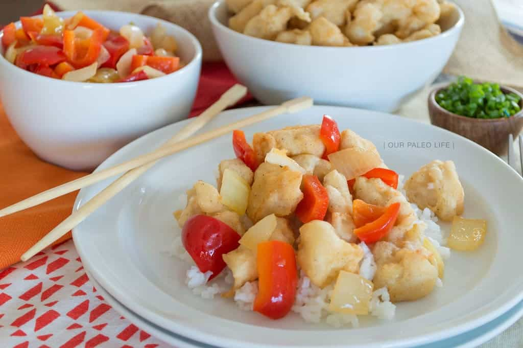 Paleo Sweet and Sour Chicken