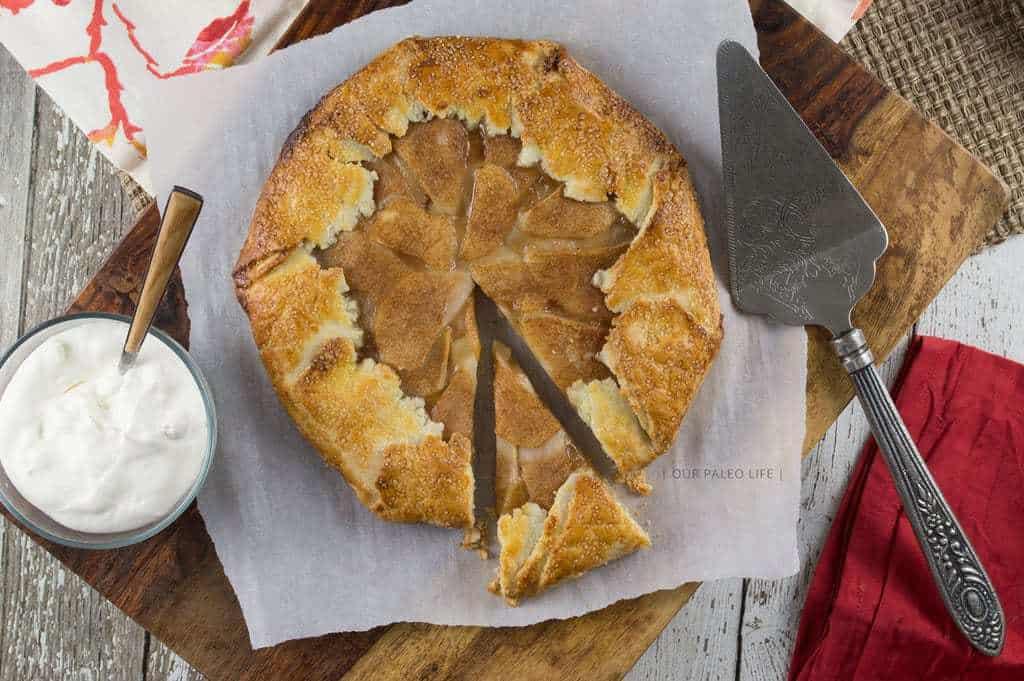 Rustic Pear Galette Paleo Dessert Recipe Grain Amp Dairy