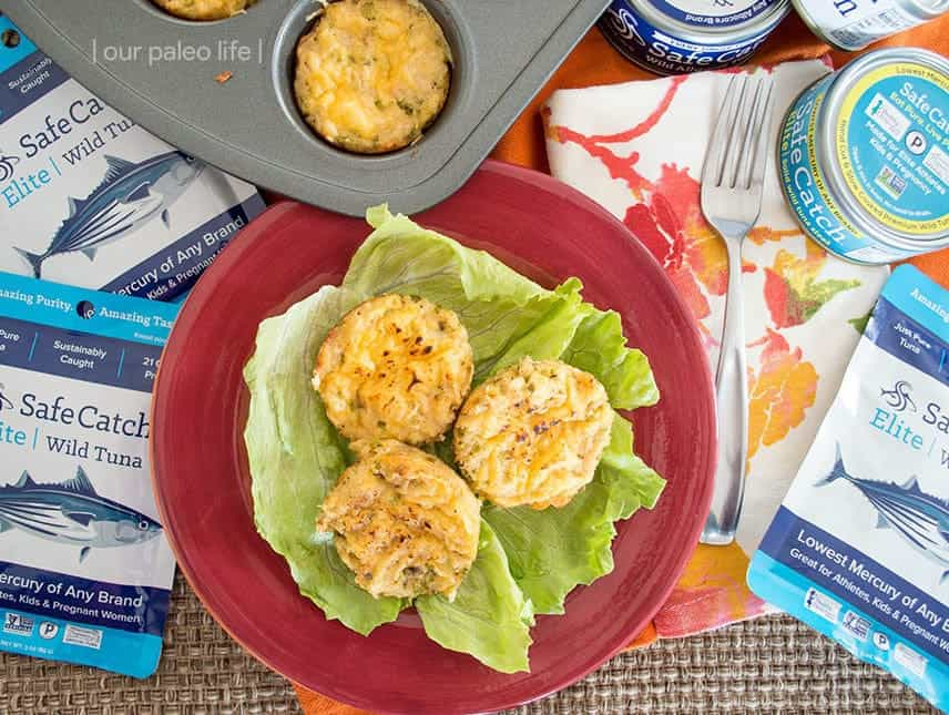 Breadless Tuna Melt {primal; grain-free} by OurPaleoLife.com