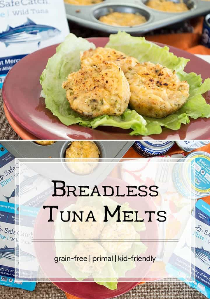 Love tuna melts but can't tolerate the grains in the bread? This is the perfect alternative with all the flavor you've been missing. #primal