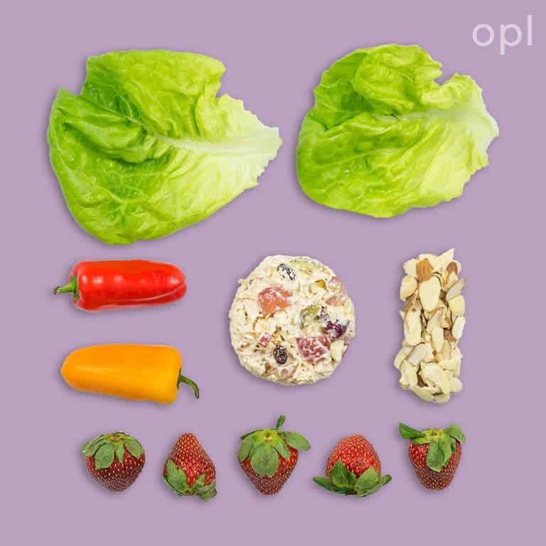 Chicken Salad Wraps Lunch
