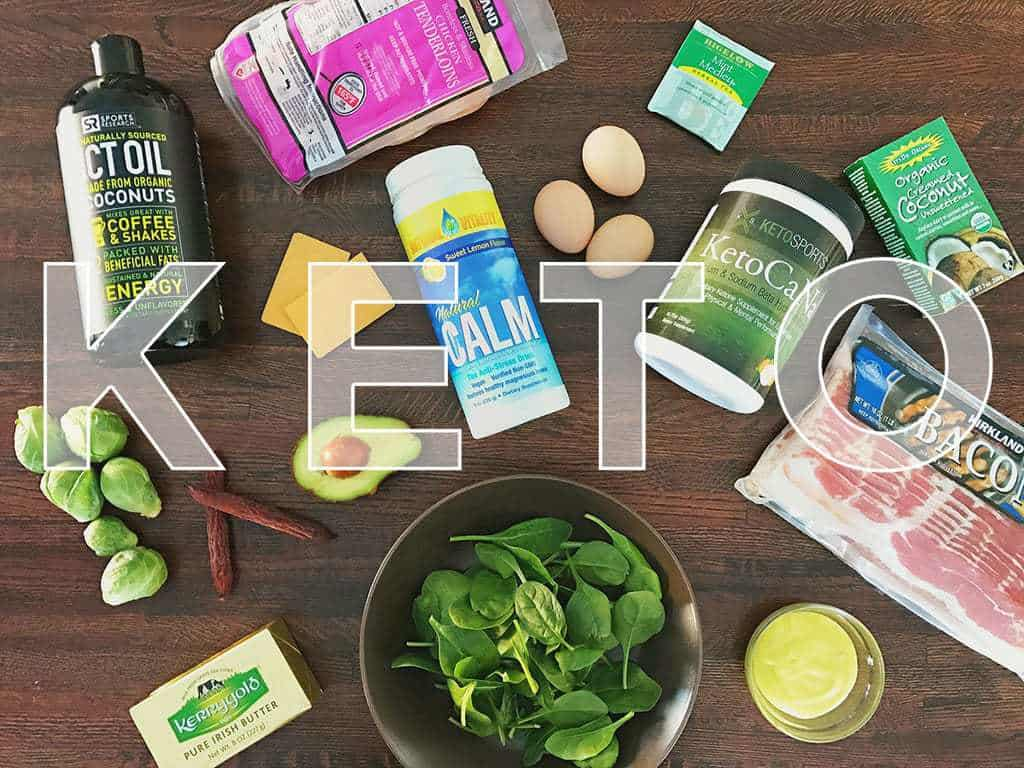 Keto Diet Meal Plan Example