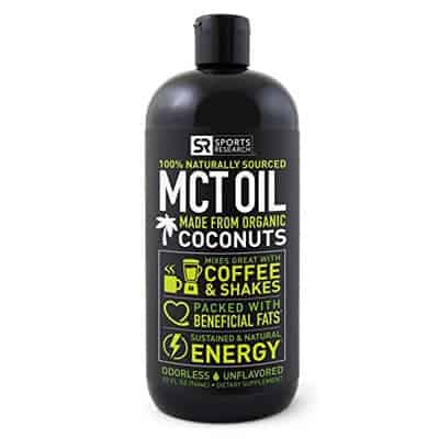 MCT Oil - Keto Meal Plan