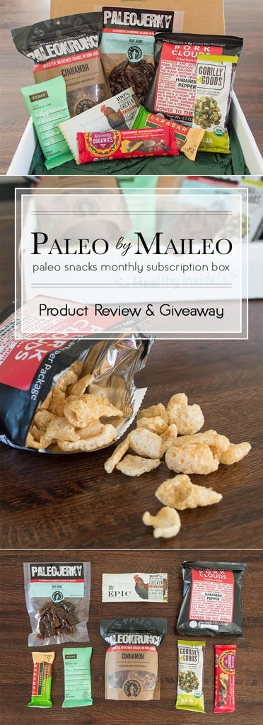Paleo by Maileo subscription boxes are a great way to try a variety a paleo-friendly foods, delivered right to your door every month. Enter to win your very own box!