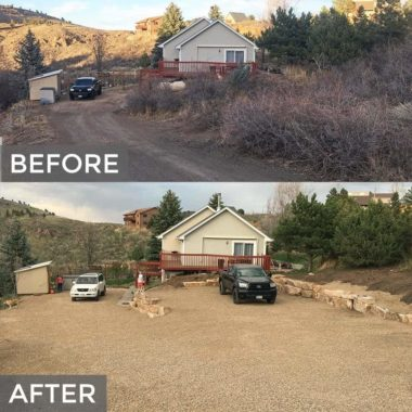 Before and After Driveway Inspiration