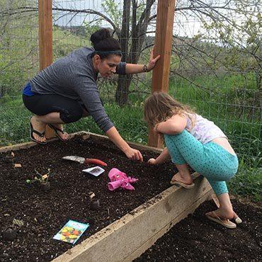 Getting Children to Help in the Garden