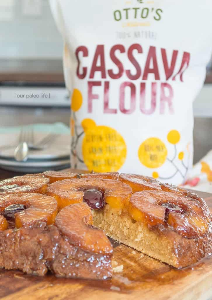 Paleo Pineapple Upside Down Cake {grain-free} by Our Paleo Life