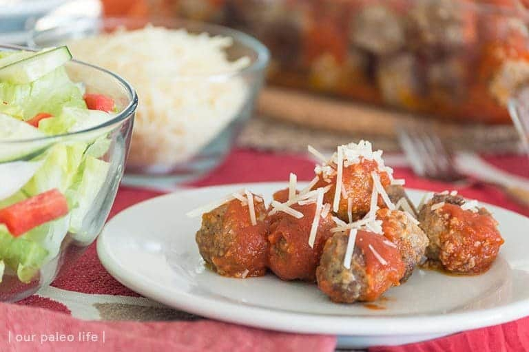 Grain-Free Italian Meatballs {paleo; primal}