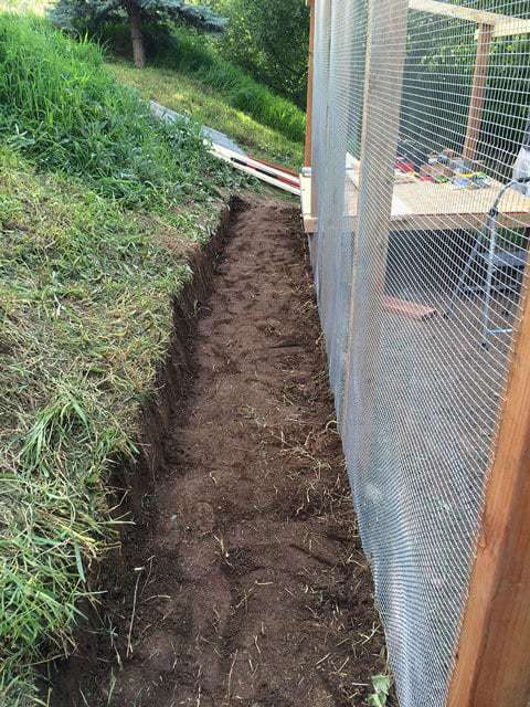 Building a Chicken Coop on a Slope