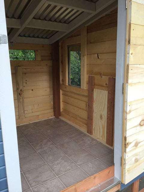 Chicken Coop Run and Door new construction