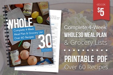 Get the Whole30 Meal Plan eBook Now!