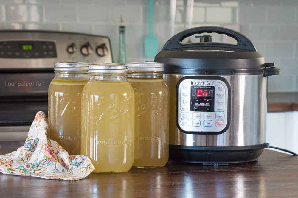 Instant Pot Turkey Broth