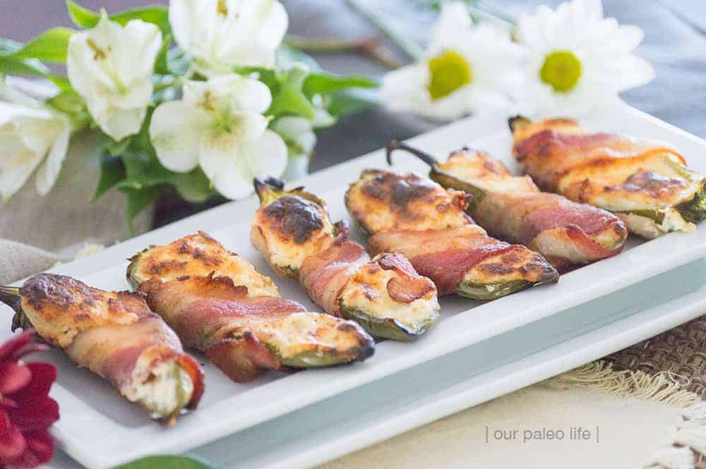 Primal Bacon-Wrapped Jalapenos Poppers {low-carb; keto}