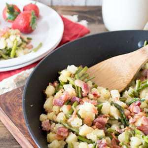 Asparagus Potato Hash