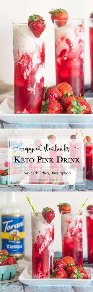 Tired of spending a small fortune on a low-carb drink that the barista might not even be making correctly? Make your own low-carb Pink Drink at home and control the sweetness and flavor without dropping a ton of cash.