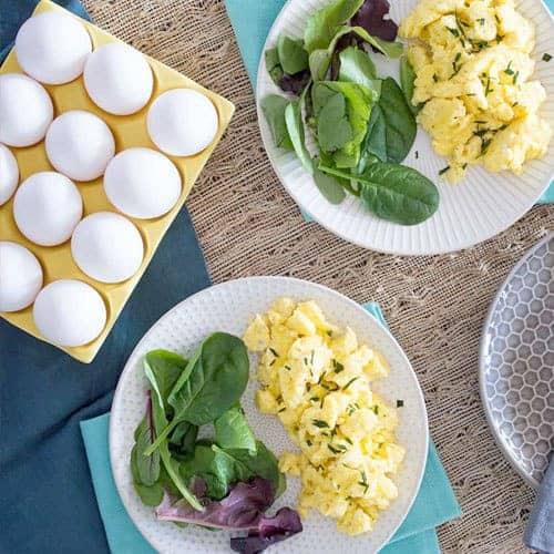 Creamy Scrambled Eggs