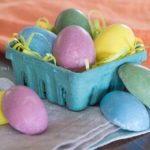 Nut Butter Filled Chocolate Eggs | soy-free; dairy-free; no artificial colors